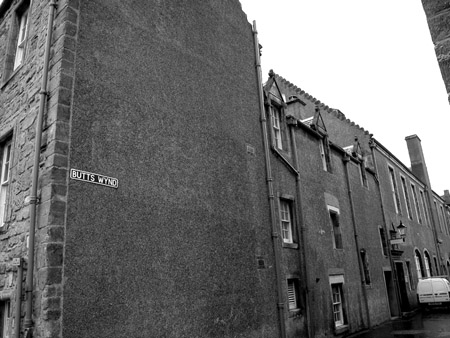 """Butts Wynd - St. Andrews"" is copyright � 2006 by James G. Mundie. All rights reserved.  Reproduction prohibited."