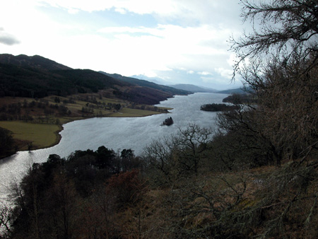 """Loch Tummel from Queen's View"" is copyright � 2006 by James G. Mundie. All rights reserved.  Reproduction prohibited."