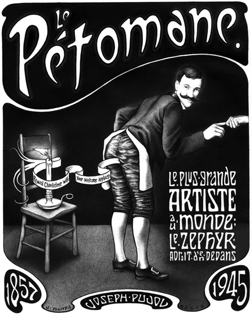 """Le Pétomane"" is copyright © 2006 by James G. Mundie. All rights reserved.  Reproduction prohibited."