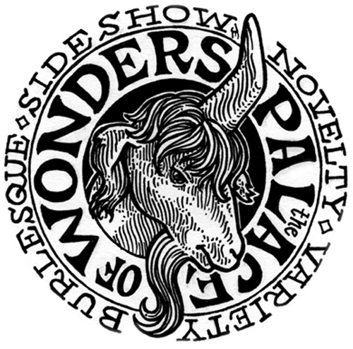 mundieart james g mundie logo for the palace of wonders 2008 Green Logo Starts with G logo for the palace of wonders is copyright 2008 by james g