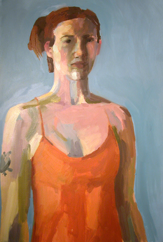 """Self-portrait"" is copyright  �  2004 by Kate Kern Mundie. All rights reserved.  Reproduction prohibited."